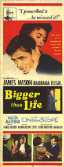 Bigger Than Life 1956 DVD - James Mason / Barbara Rush